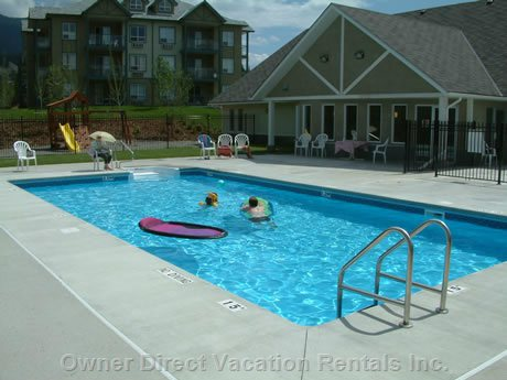 Outdoor Heated Pool...Great Way to Cool down on a Hot Summer Day.