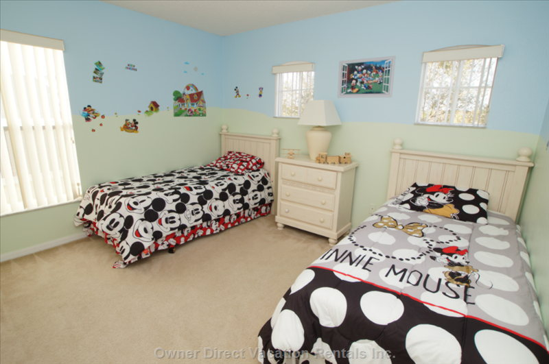Mickey and Minnie Twins Bedroom