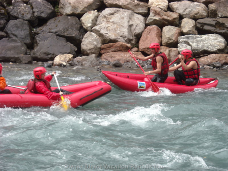 Rafting on the Arve Or Giffre Rivers - Only a 15 Minute Drive Away