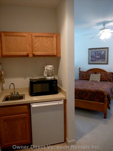 Kitchenette in Second Bedroom Suite