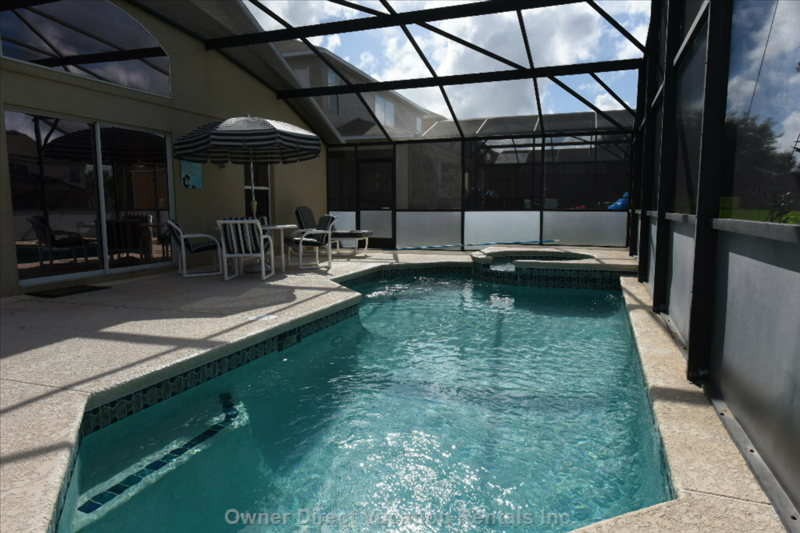 Private Heated Pool with Extended Pool Deck