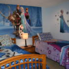 "Frozen Themed Twin Room with 40"" Led Tv"