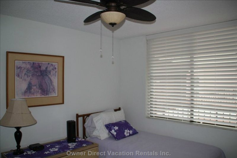 Second Bedroom with Fan
