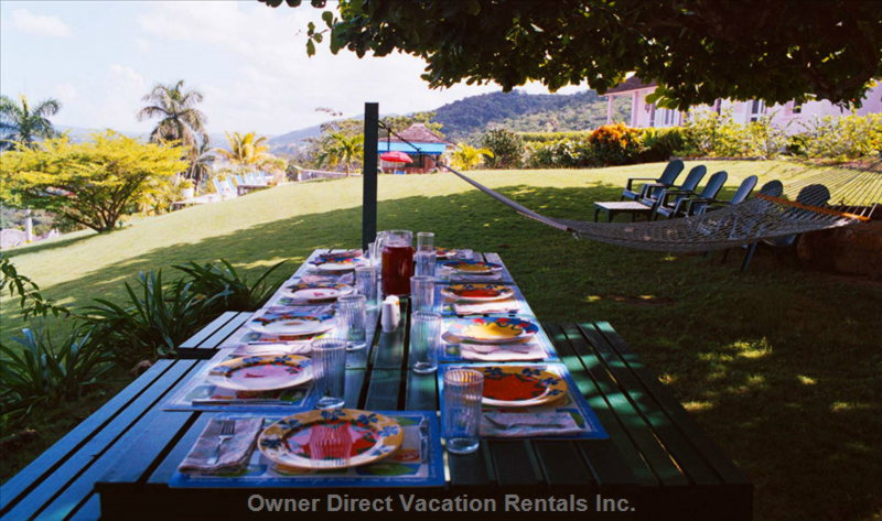 Villa offers cool breezes and panoramic views of Montego Bay, ID#205778