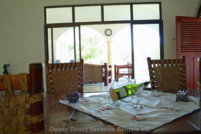 Dining Table - Dining Table in Living Room/Dining Area