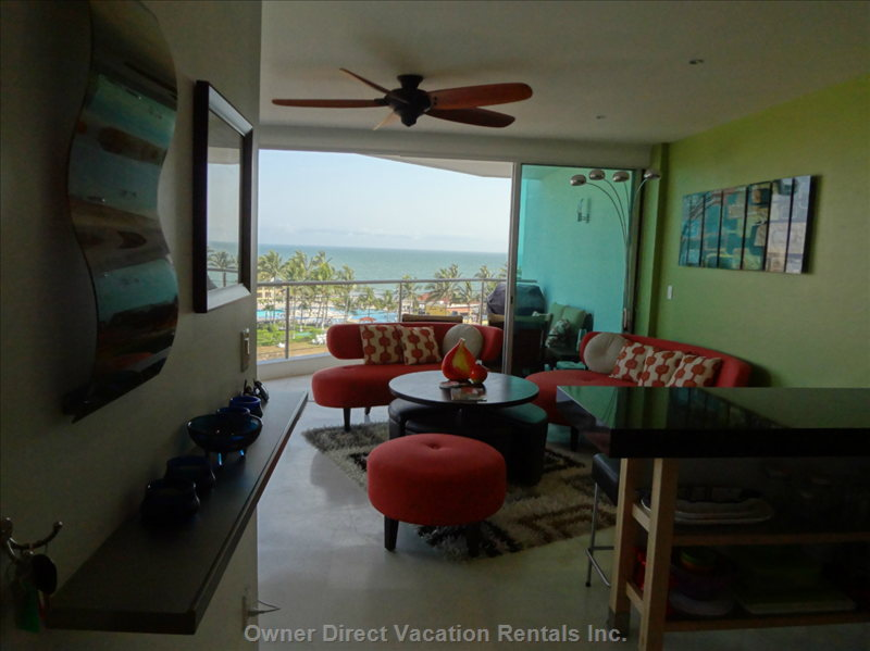 Gorgeous Ocean View Right from the Moment you Step in the Front Door!