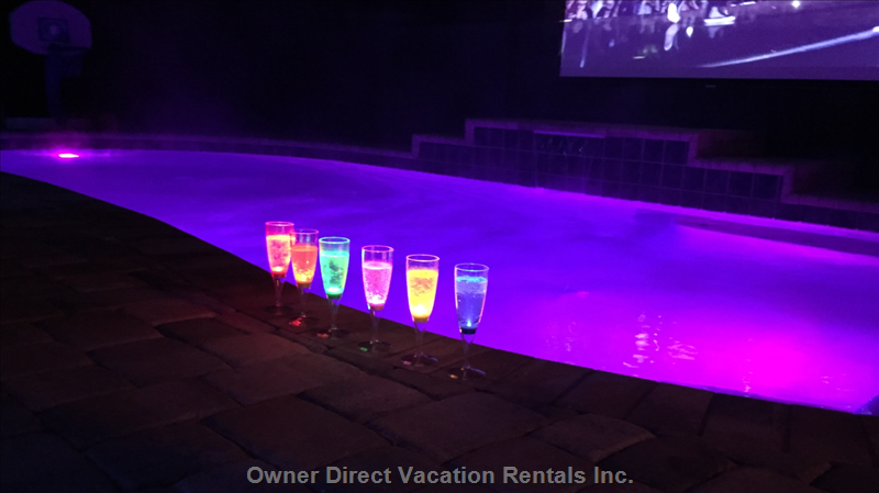 Ambiant Multi Color Pool Lights for Relaxing Evening Swims