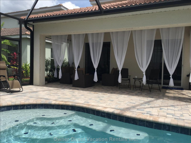 Your Own Private Resort - Pool & Lounge Area