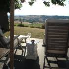 Your Chair to Enjoy the Marche Wines and Views?