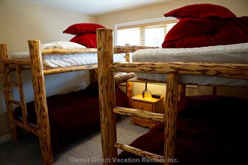 Bedroom 3, Twin Bunks