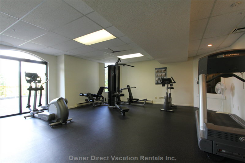 Common Area Fitness Room