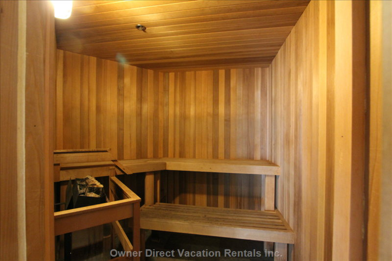 Common Area Sauna