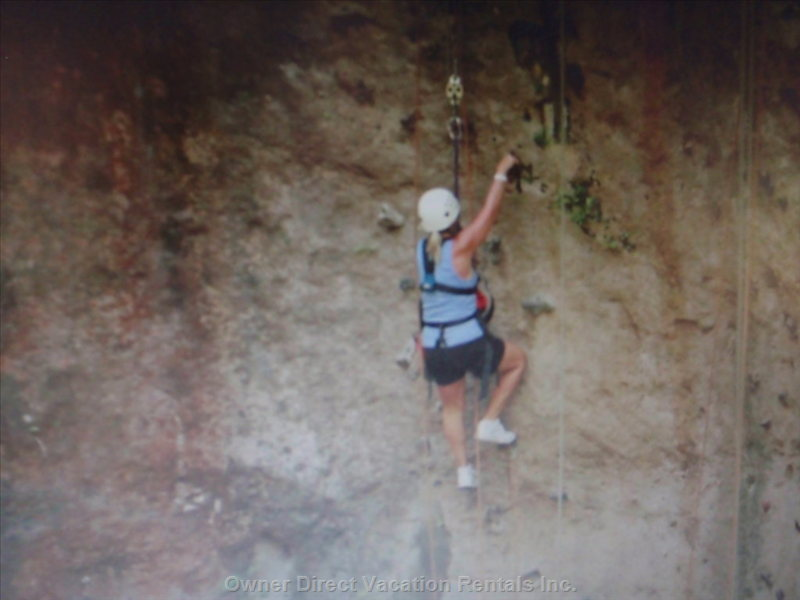 Zip-Lining and Climbing
