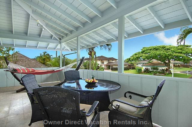 Front Lanai with Very Comfortably Furniture