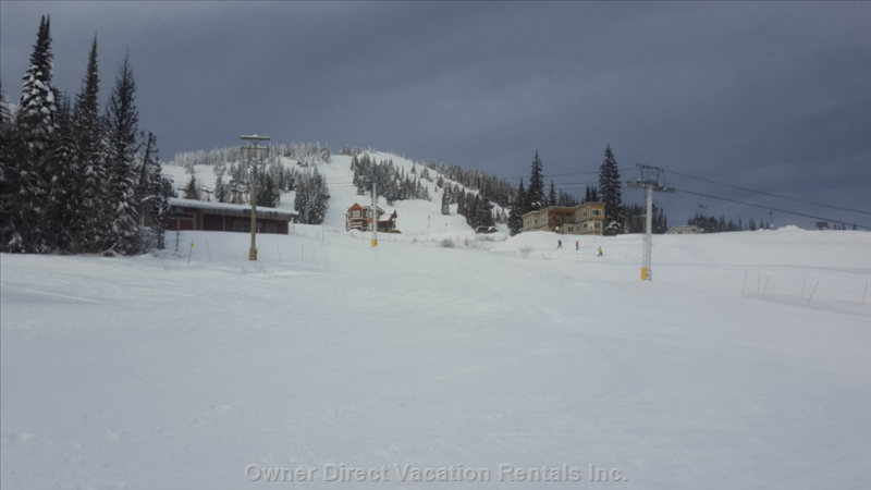 View from Back, Alpine Meadows Chair