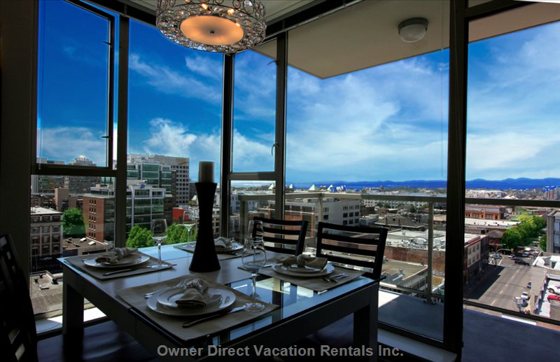 Dining Table and View