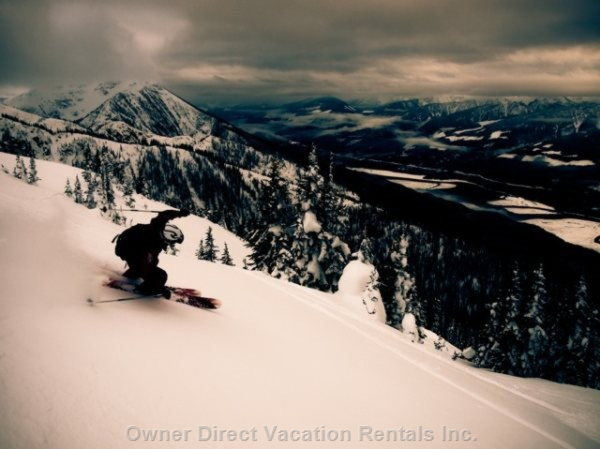 Great Powder - Highest Vertical in North America!