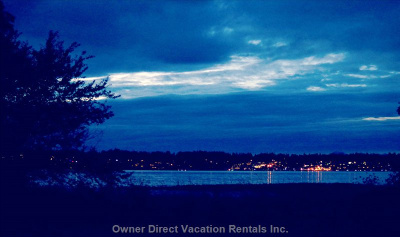Your View of Comox Marina at Dusk