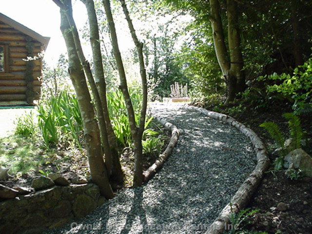 Exterior Path to Suite - Private Path to your Suite.