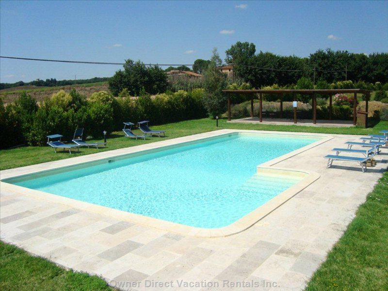 Swimming Pool of 16m X 8-6m and Porch of 50sqm