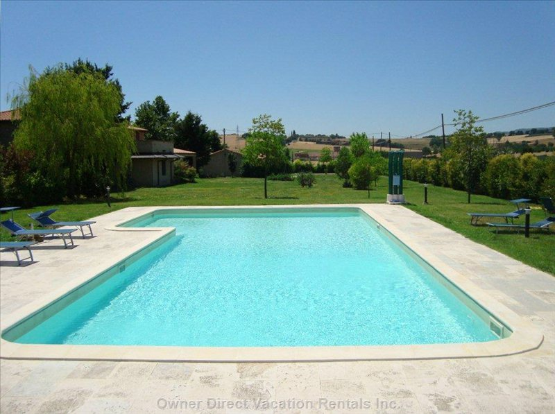 Swimming Pool of 16m X 8-6m and Garden of 1 Hectare