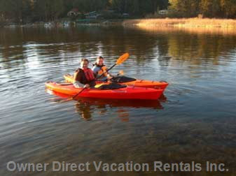 Kayaking in the Strathcona Bay