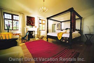 Master  Protea Suite with Balcony