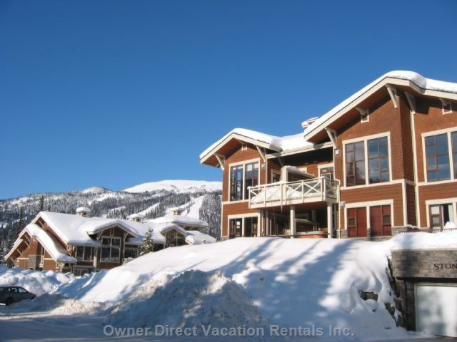 Stone's Throw East Sun Peaks Vacation Rentals #144985