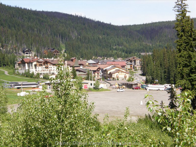 Sun Peaks view of the Village #200523