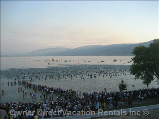 Ironman start in Penticton, BC ID#136993