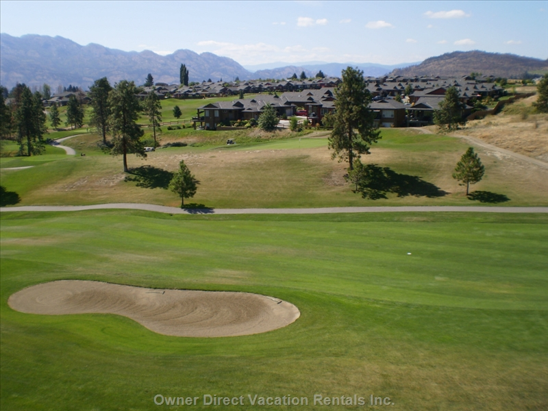 2-Bedroom condo in a complex with spectacular views of  Lake Okanagan and the Two Eagles Golf Course's 5th hole