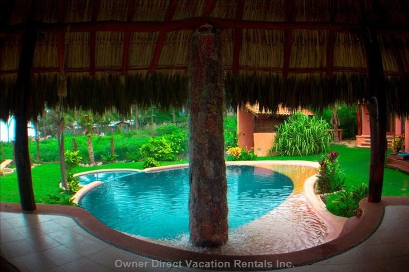 Inside Palapa - Shared with up to 6 other Units on this Property.