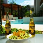 Enjoy some Guacamole & Beer at your Terrace!