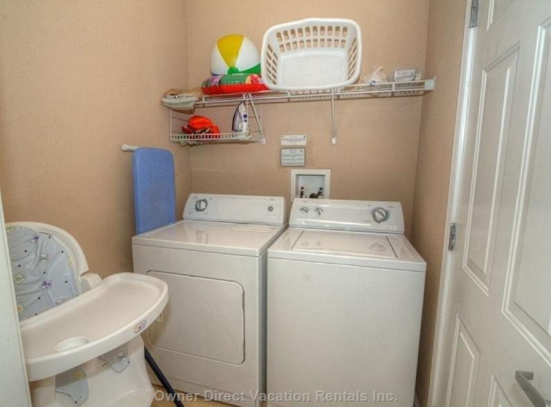 Washer & Dryer, High Chair