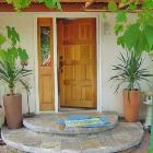 Front Entrance under the Grape Vines