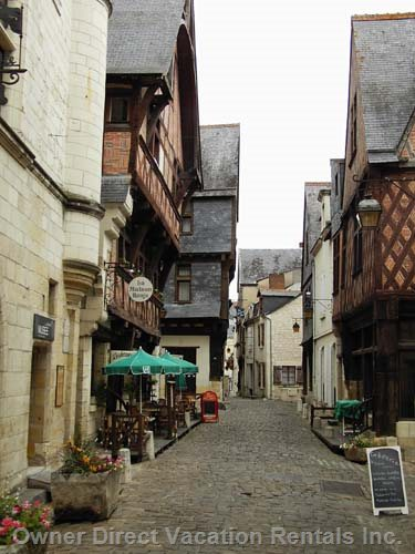 Streets of Chinon