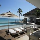 Beach Club Loungers and Dining