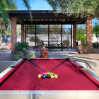 Outdoor Poolside Pool Table!