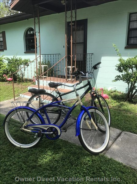 4 Adult Bikes Included!