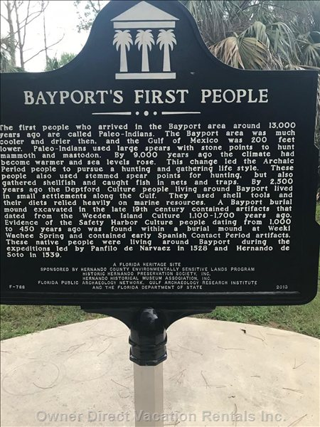 Bayport - Nice Park Area W/History.  Can Launch Boat from this Park.