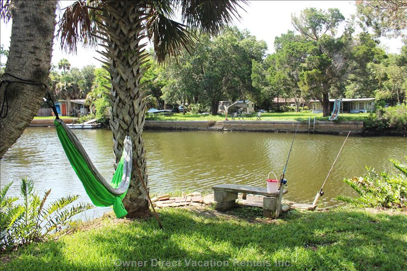 Bring your Fishing Pole and Salt Water License and Have Fun at our Fishing Hole!!!