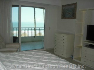 Looks to the Ocean. W/ Ensuite
