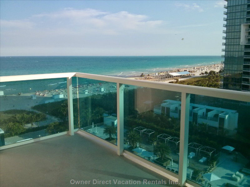 Balcony with Oceanview