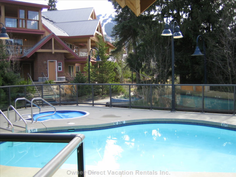 Common Area Pool and Hot Tub