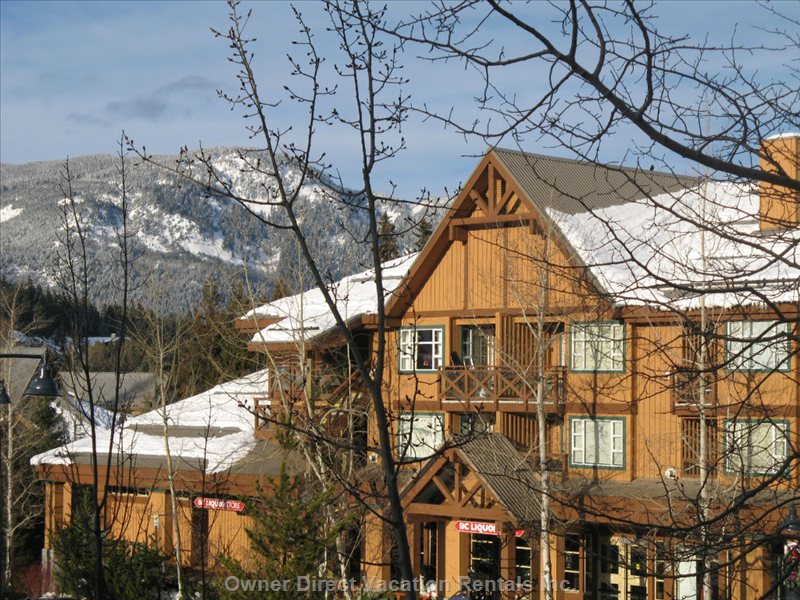 British columbia ski lodgings owner direct - Alpine vacation houses ...